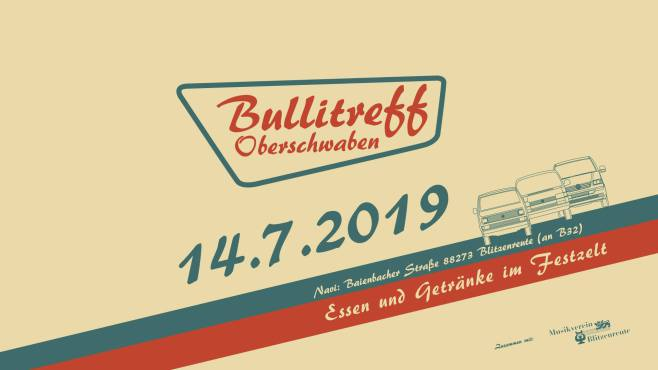 Bullitreff Oberschwaben 14.07.2019